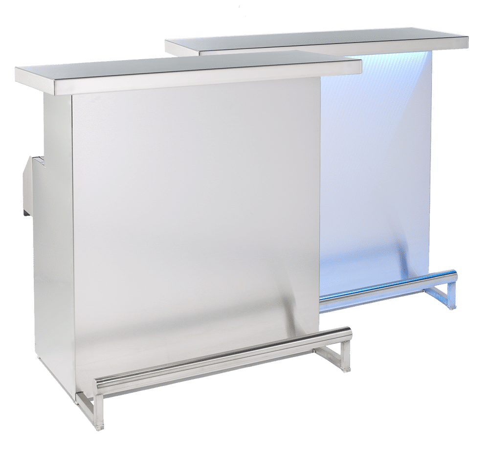 DELUX Stainless Steel Foldable Bar