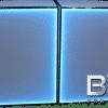 Blue Back-lit Double Wide PlexBoX 4 foot Portable Bar