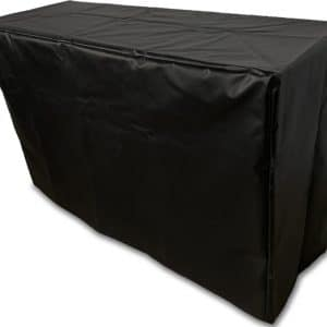 Black vinyl cover poach to protect VERSATI and LUMI portable bars.