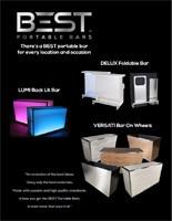 BEST Portable Bars Promotional Brochure