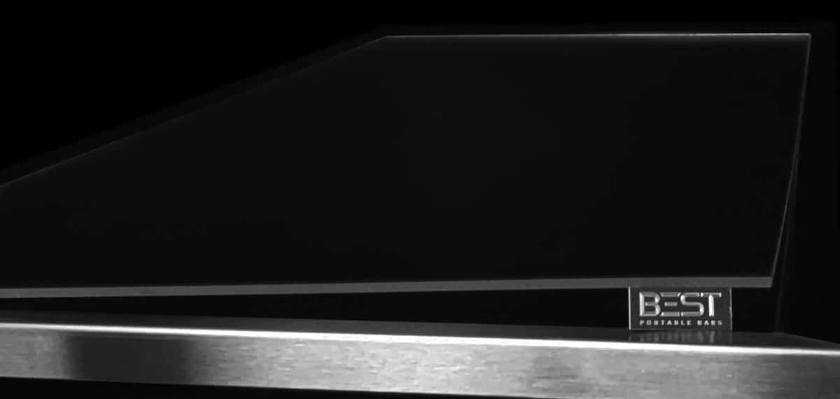 Scratch Resistant Transparent Acrylic Top Protector for VERSATI Portable Bar