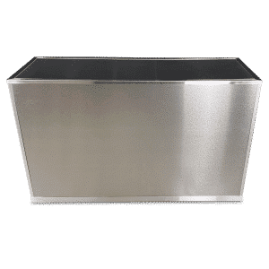 VERSATI Aluminum Brushed Stainless Steel Cover Panels