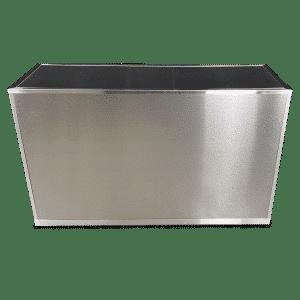 VERSATI Aluminum Brushed Stainless Steel Cover Panels