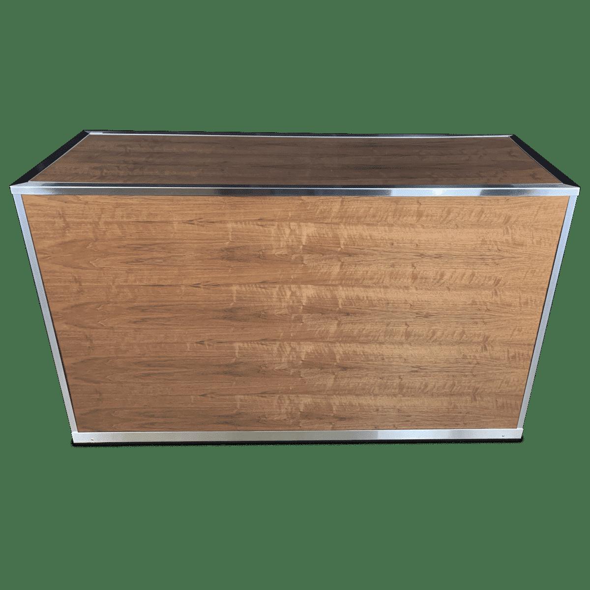 Black Walnut Wood Cover Panels for VERSATI Portable Bar